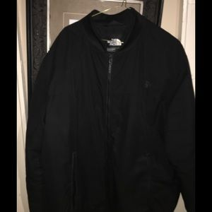 Men's Northface Jacket XXL Full Front Zipper Black